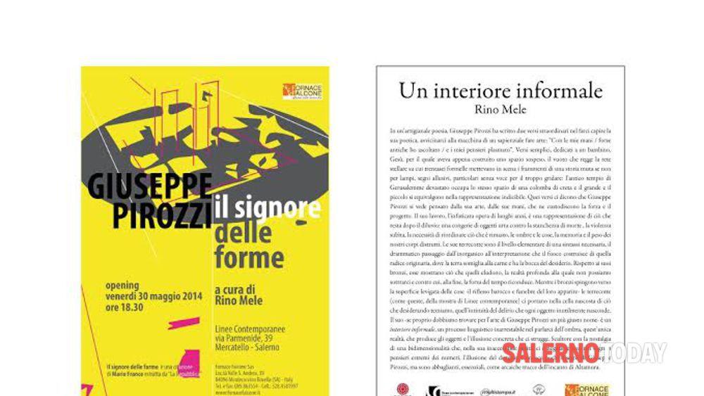 Giuseppe Pirozzi Linee contemporanee Salerno 30 maggio-21 ...