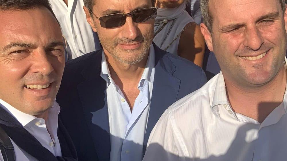 Gaetano Amatruda con Stefano Caldoro-2