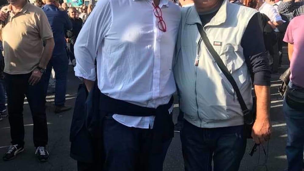 Mariano Falcone con Ernesto Sica-2