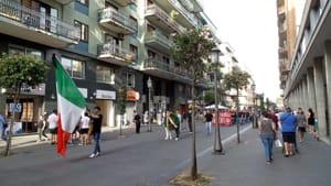 corteo Forza Nuova e Casapound 2 (Foto Antonio Capuano)-2