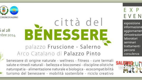 """A Salerno torna la """"Città del benessere"""""""