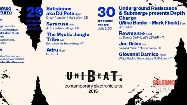 Al via il Festival di musica elettronica all'Università di Salerno