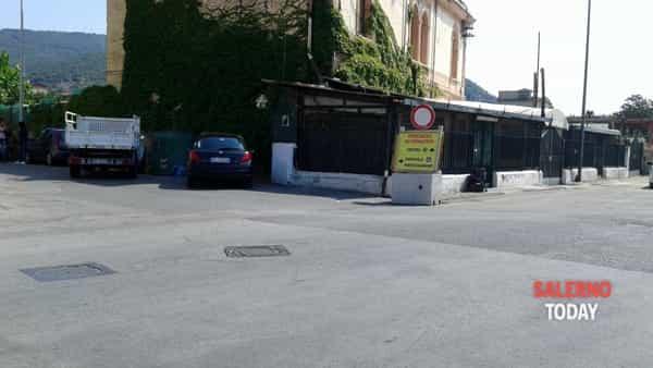 lavori via Picenza - torrente Mariconda-2