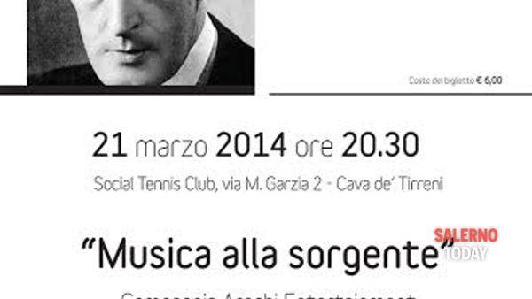 """""""Musica alla sorgente"""" in scena a Cava de' Tirreni"""