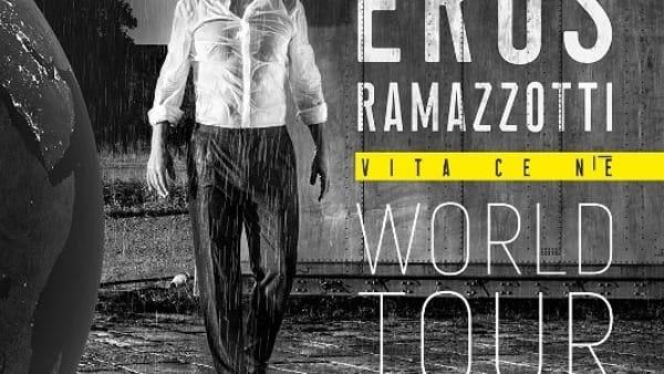 Eros Ramazzotti in concerto al PalaSele di Eboli: fan mobilitati