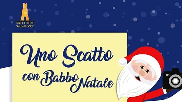 A Scafati, il 18 dicembre, slitta di Babbo Natale. Lunedì 19, turista a chilometro zero