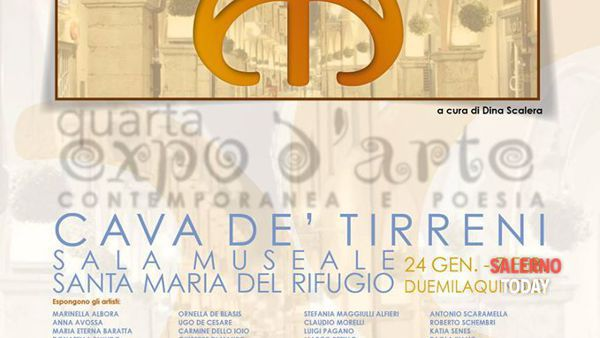 "Arte contemporanea e poesia per ""Avalon in Arte"" a Cava de' Tirreni"