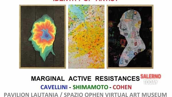 salerno - identity of artist / marginal active resistances - shozo shimamoto - guglielmo achille cavellini - ryosuke  cohen                                                                                                                  -3