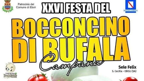Sagra del bocconcino di bufala a Santa Cecilia, dal 17 al 19 agosto
