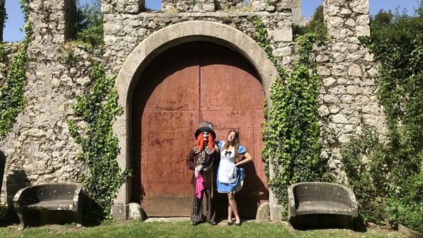 "Dove vivono i cartoni: ""I cavalieri della tavola rotonda"" nella Villa d'Ayala"