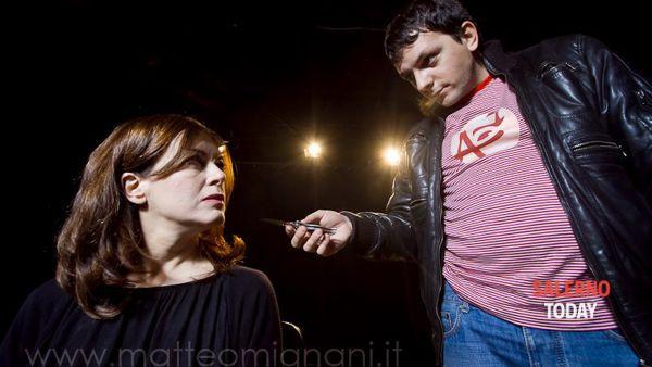 Eduardo Ricciardelli e Irma Ciaramella in scena al Teatro Genovesi di Salerno