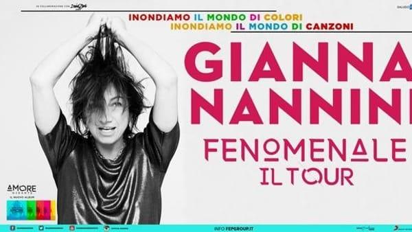 """Gianna Nannini al Palasele di Eboli: il 19 aprile concerto """"Fenomenale"""""""