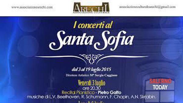 Al via i concerti al Santa Sofia a Salerno