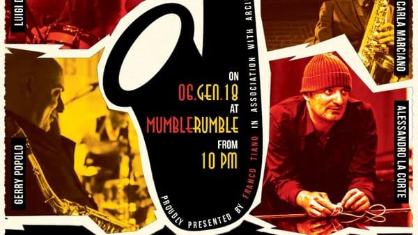 Epifania in jazz al Mumble Rumble, il 6 gennaio