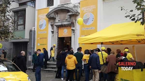 Mercato coperto dela Coldiretti: l'intervista a Vincenzo Tropiano