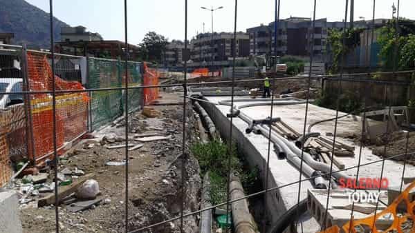 torrente Mariconda - lavori via Picenza-3