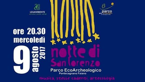 San Lorenzo, la notte delle stelle cadenti all'Eco Parco di Pontecagnano