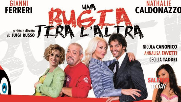 """Nathalie Caldonazzo in scena al Teatro Nuovo di Salerno con """"Una bugia tira l'altra"""""""