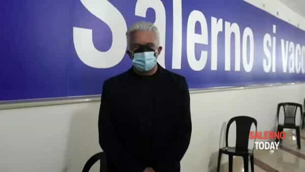 Vaccini a Salerno, il video-appello del sindaco
