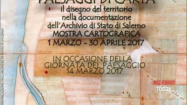 Paesaggi di carta. Il disegno del territorio nei documenti dell'Archivio di Stato