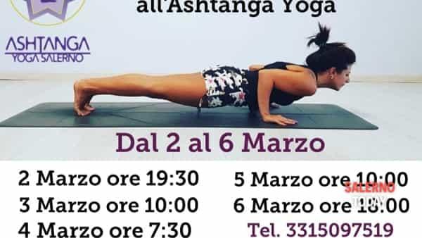 Lezioni gratuite di Ashtanga yoga a Salerno