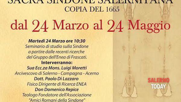 La Sacra Sindone in mostra al Museo diocesano di Salerno