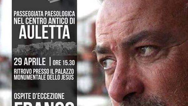 Il 29 aprile, Invasioni digitali ad Auletta con Franco Arminio