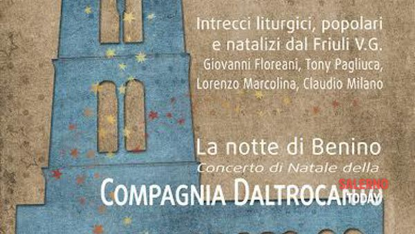 Concerto di Natale della Compagnia Daltrocanto a Salerno