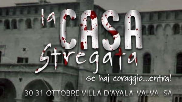 Villa d'Ayala diventa casa stregata: il 30 e 31 ottobre, le notti di Halloween a Valva
