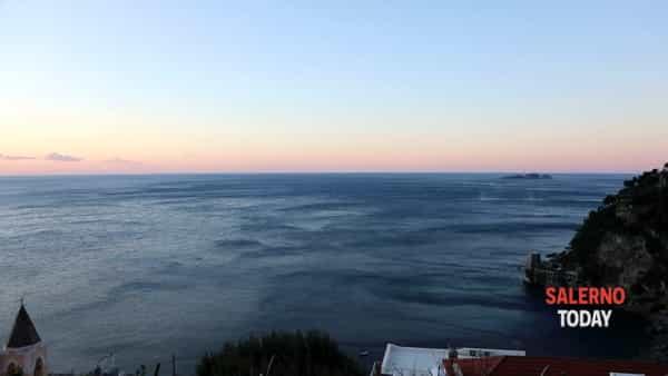 Il mare sferzato dal vento in Costiera Amalfitana: lo splendido video di Fabio Fusco