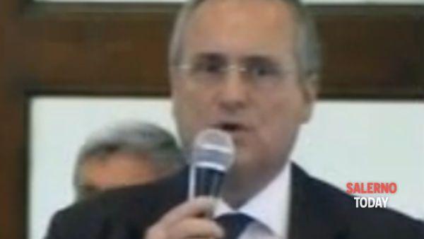 Polemica tra Claudio Lotito e i tifosi della Salernitana