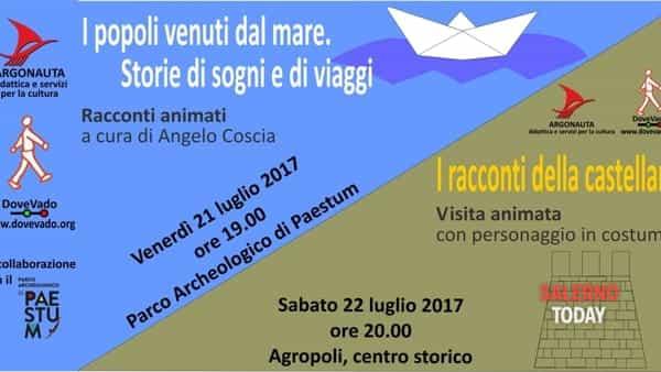 Estate 2017, argonauta per le famiglie a Paestum