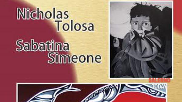 """""""Chiamata alle Arti"""" per Nicholas Tolosa e Sabatina Simeone al Papi di Salerno"""