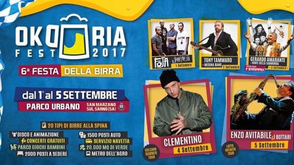 Birra, cibo e concerti: a San Marzano sul Sarno è tempo di Okdoriafest