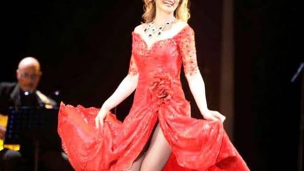 Serena Autieri ospite del Premio Charlot all'Arena del Mare