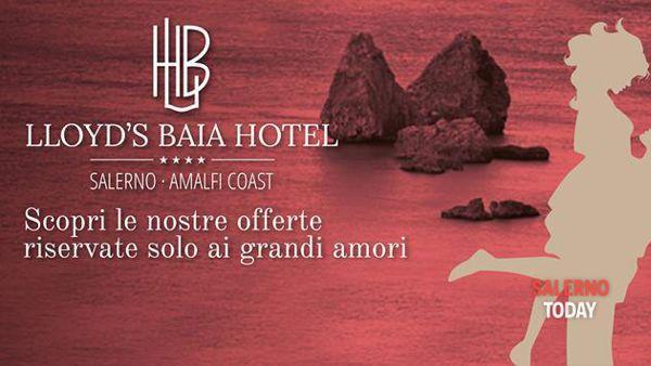 Coccole e passione per il San Valentino al Lloyd's Baia Hotel di Vietri