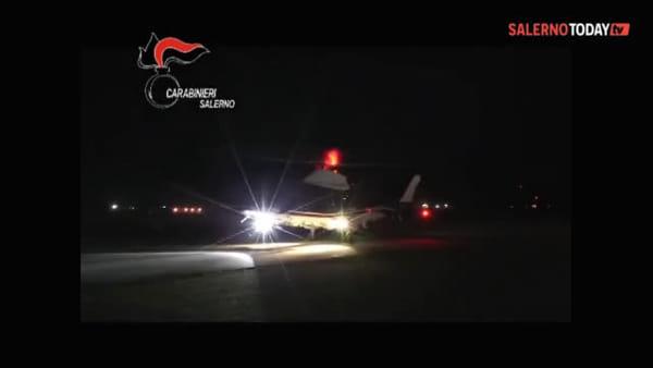Operazione antidroga ad Acerno: il video dei carabinieri