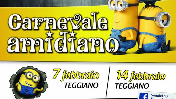 Carnevale con i Minions a Teggiano