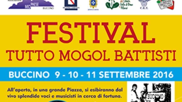 """Festival """"Tutto Mogol e Battisti"""" a Buccino dal 9 all'11 settembre"""