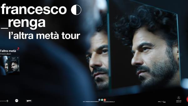 """L'altra metà"": Francesco Renga in concerto al Gran Teatro Paladianflex di Atena Lucana"