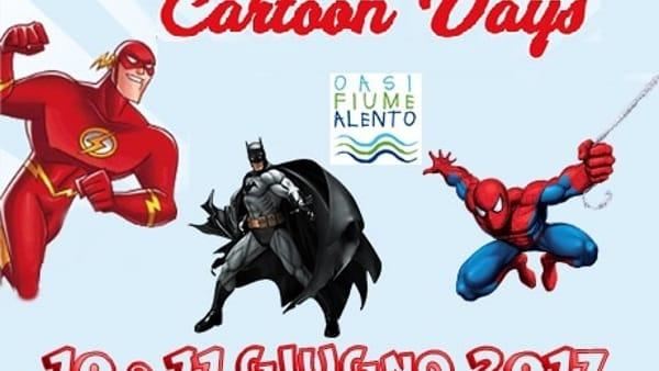 Cartoon Days all'Oasi del fiume Alento, il 10 e 11 giugno