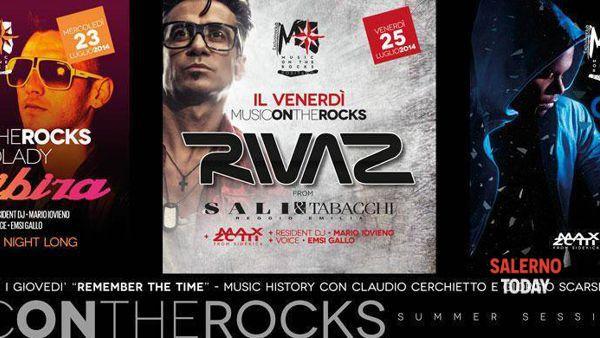 Al Music on the Rocks suonano Rivaz e Quentin Harris