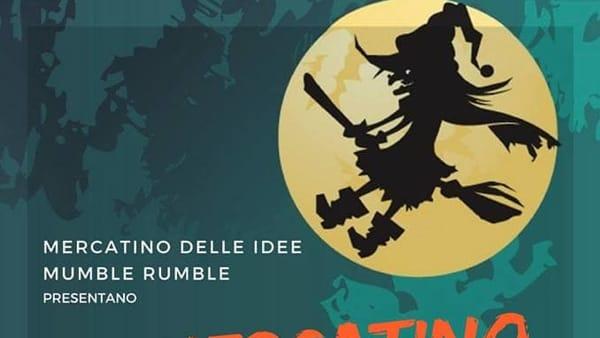 Halloween al Mumble Rumble di Pastena: il 30 ottobre, Mercatino delle Streghe