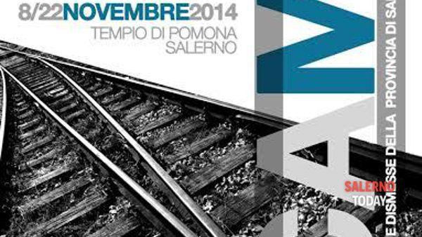 """Le ferrovie immortalate nella mostra """"Scambi"""" a Salerno"""