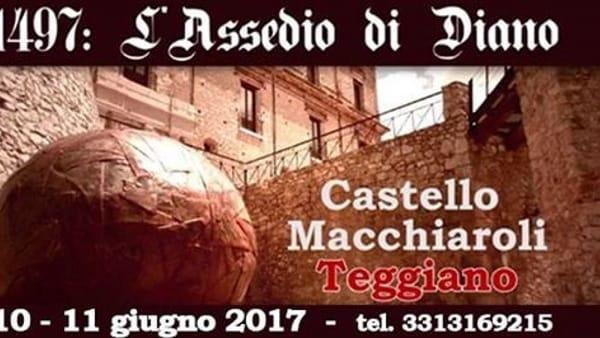 L'assedio di Diano: teatro e rievocazione al Castello Macchiaroli di Teggiano
