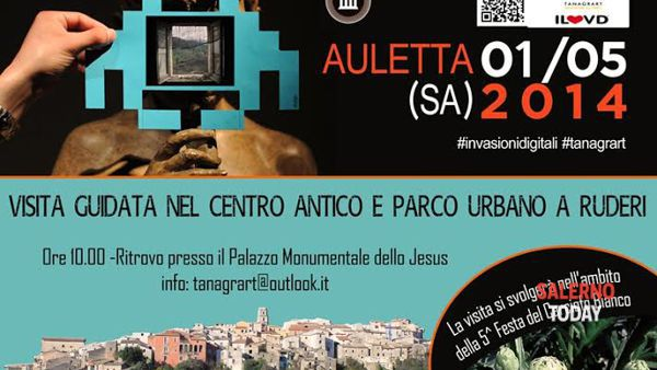 """Le """"Invasioni digitali"""" irrompono ad Auletta"""