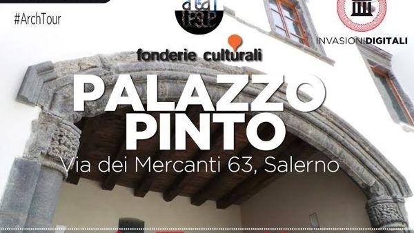 Le Invasioni Digitali Palazzo Pinto a Salerno