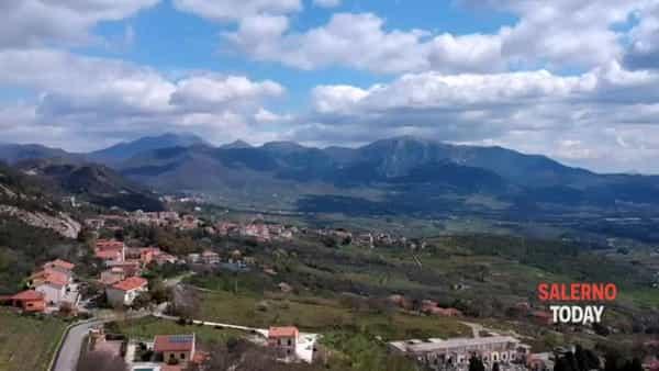 Coronavirus: il drone a Montecorvino Pugliano