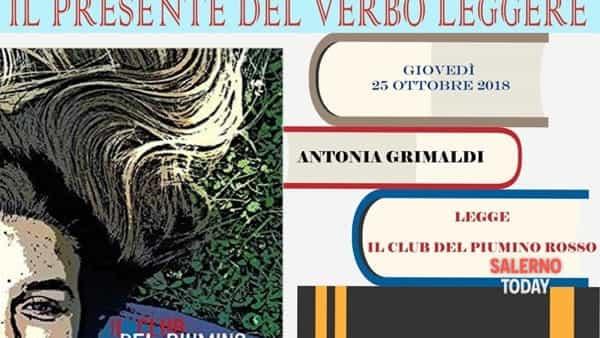 Il club del Piumino Rosso di Antonia Grimaldi all''IC Falco di Scafati per il progetto Libriamoci