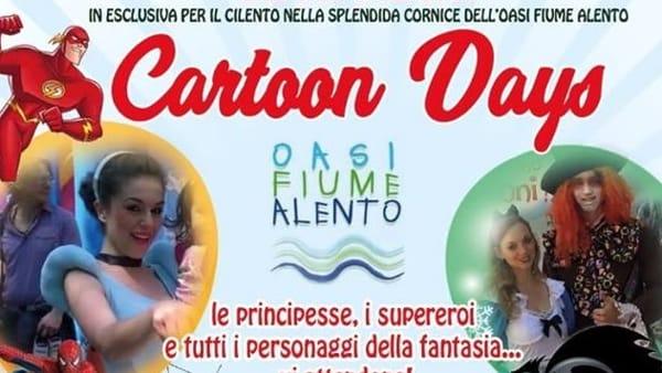 "Sabato 22 e domenica 23 aprile, ""Cartoon days"" all'Oasi Alento"
